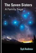Swiss mountains by night with stars - book cover